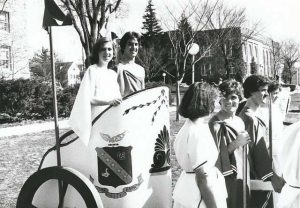 Greek Life Chariot Race