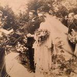 Photo of Barbara Caron's Grandfather wedding.
