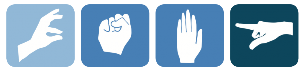 icons for the smart glove