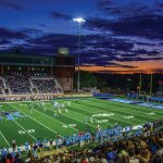 Meade Stadium Turf and Lights Dedication Sept. 7, 2019.