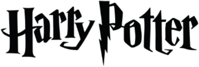 The word mark from the Harry Potter book series with a lightening bolt 'P'.