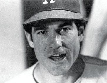 Steve Garvey before Game 1 of the 1977 World Series