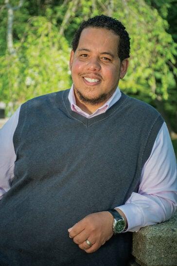 URI alumnus Domingo Morel '98, associate professor of political science