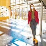URI triple major in biology, sociology, and Italian, Julia Santini '21