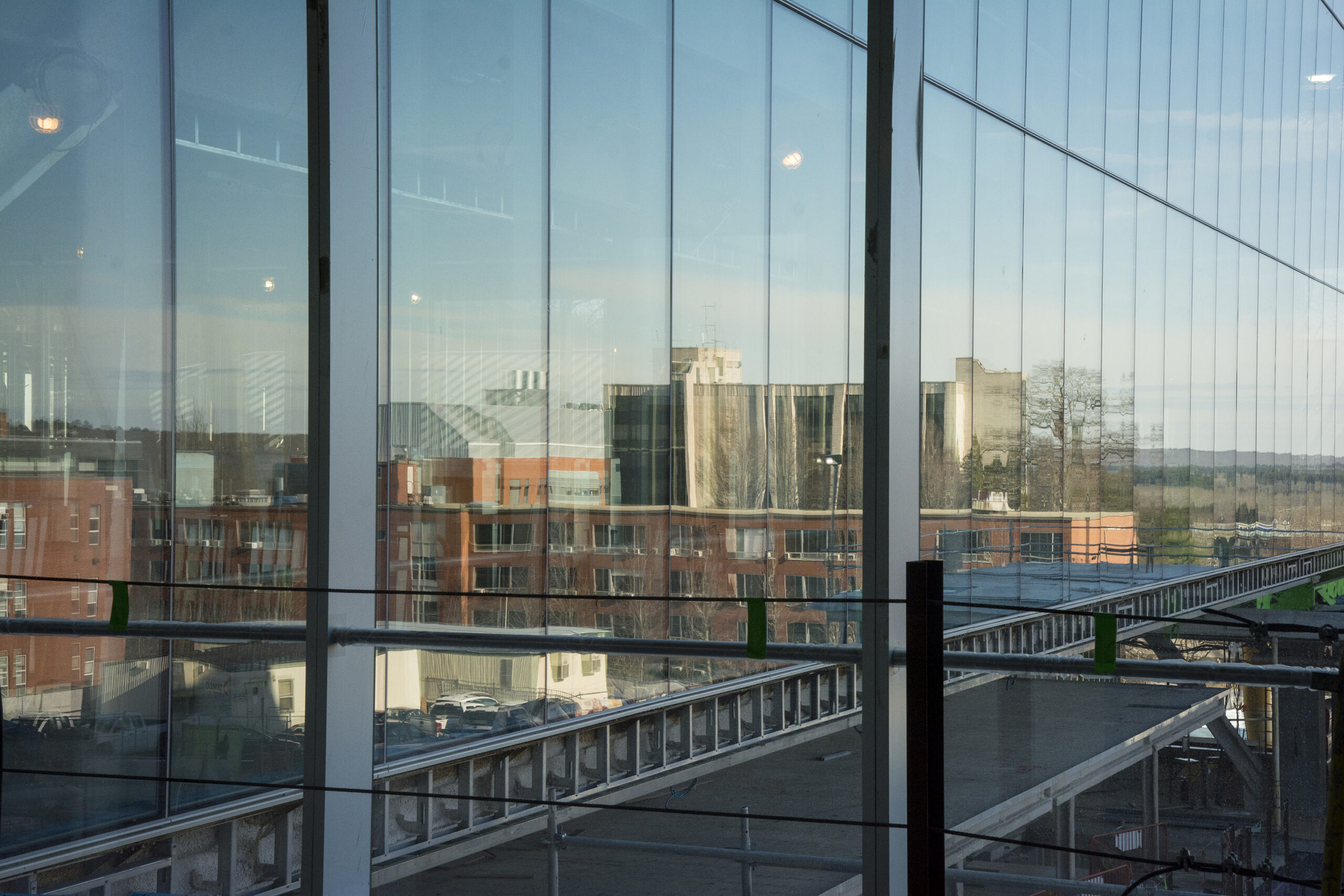 A BEAUTIFUL REFLECTION: Buildings on URI's Kingston Campus
