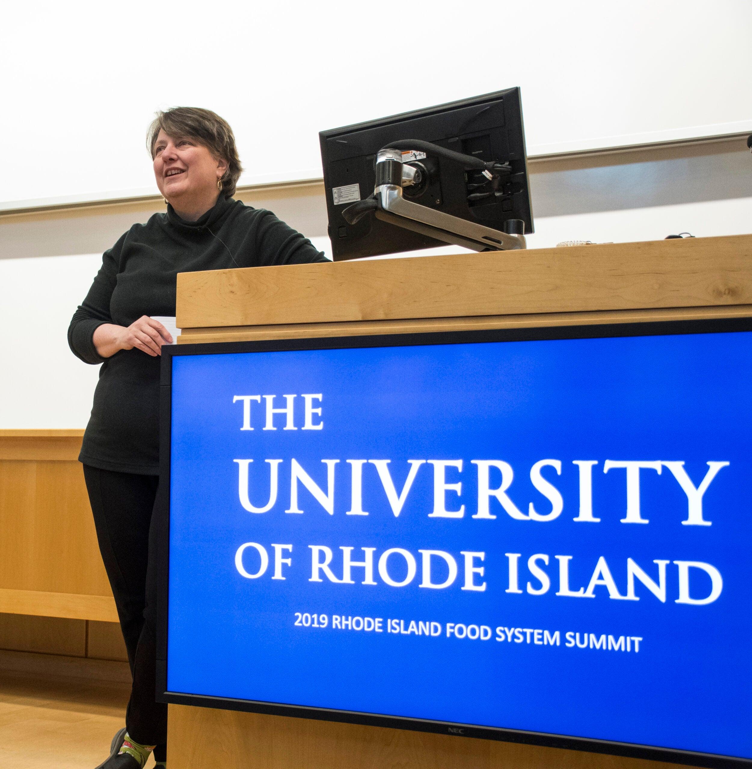 Keynote speaker Kathleen Merrigan