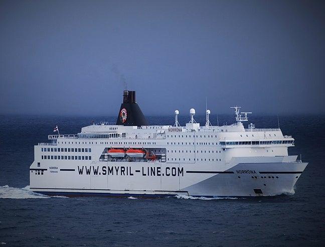 The high-seas ferry MS Norröna