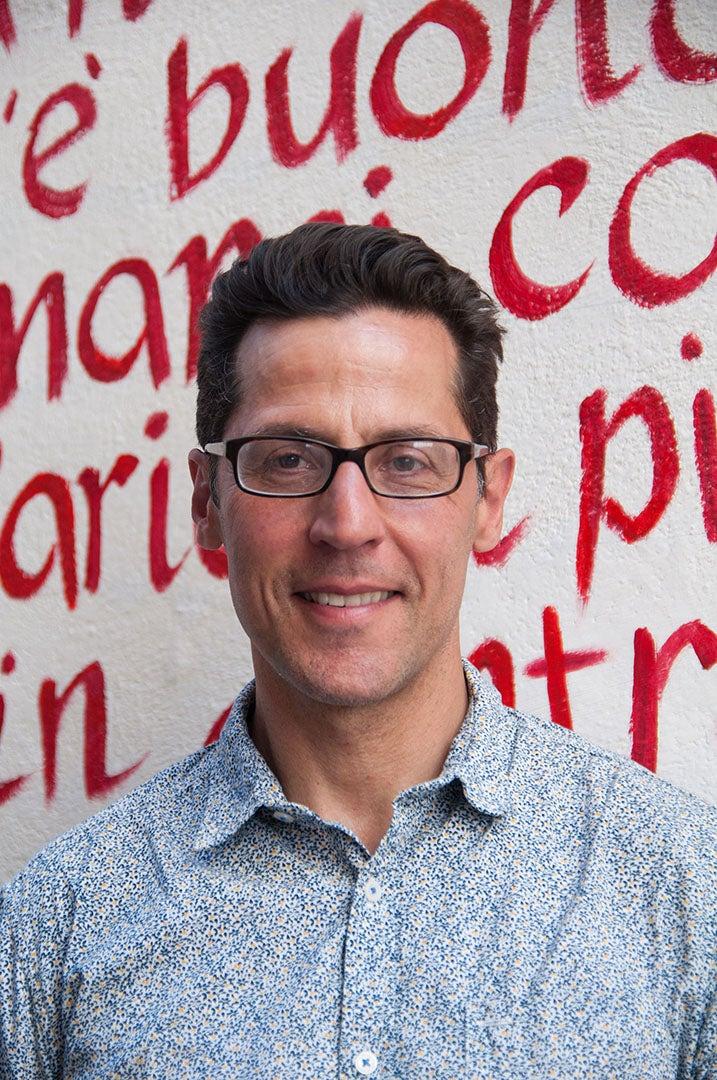 URI Professor of English Peter Covino