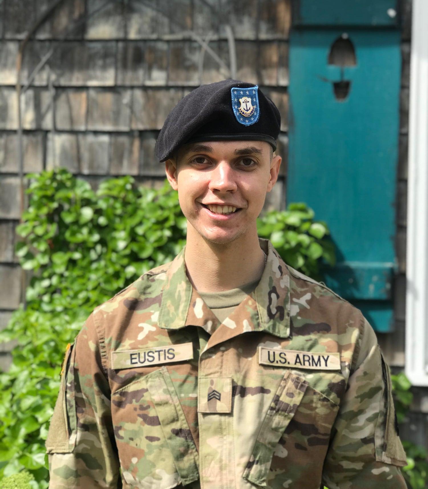 ROTC cadet Jack Eustis
