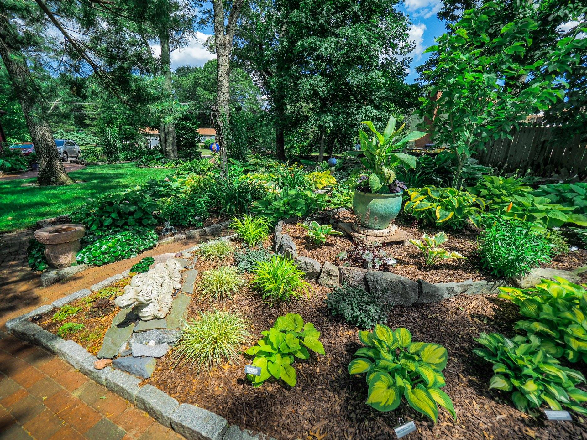 One of the gardens that will be featured