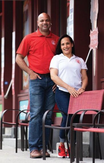 Juan and Wendy Lantigua