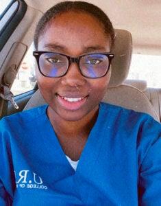 Telma Odoom, URI's college of Nursing