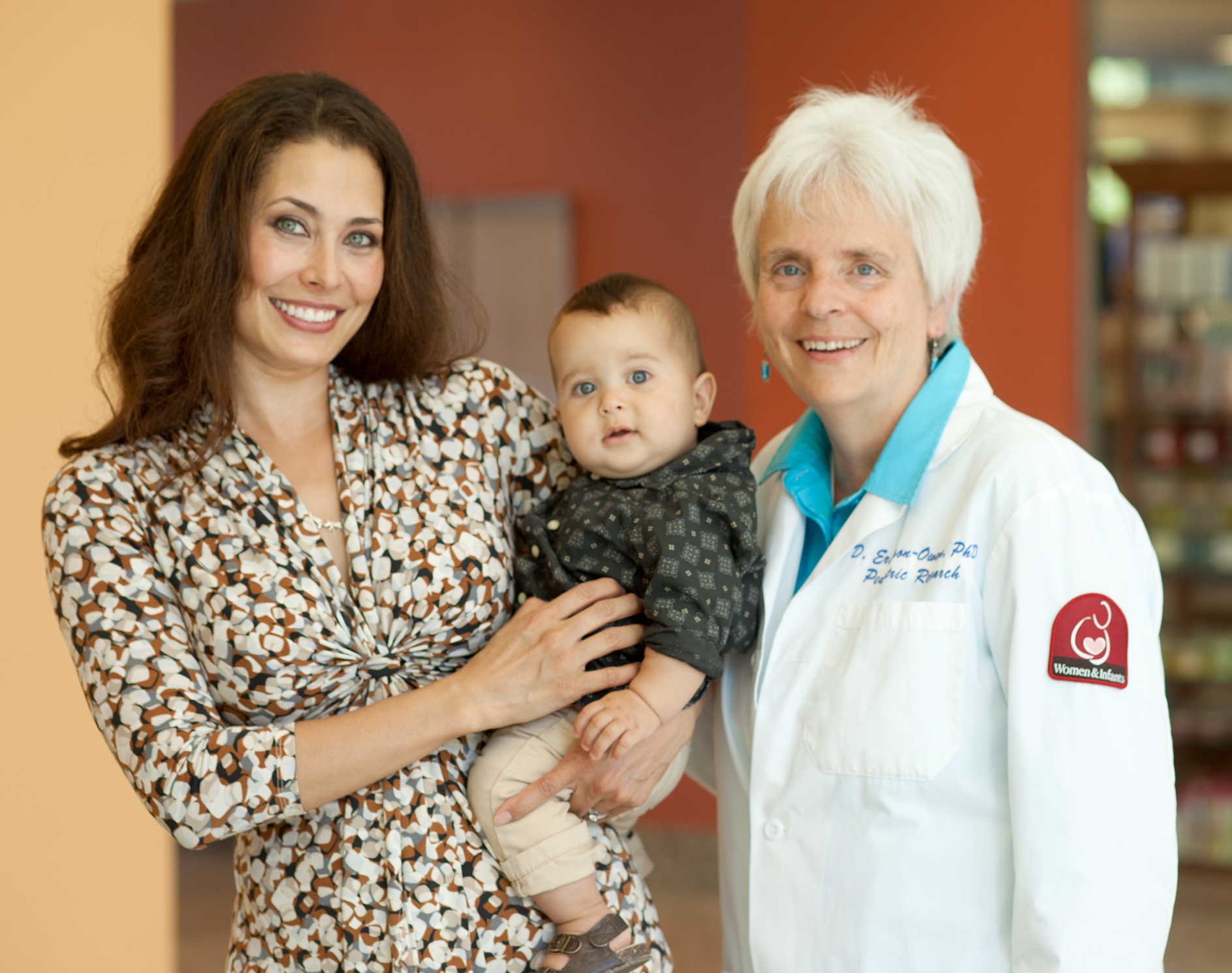 Debra Erickson-Owens, right, with Shoi Parker and her little boy Cameron.