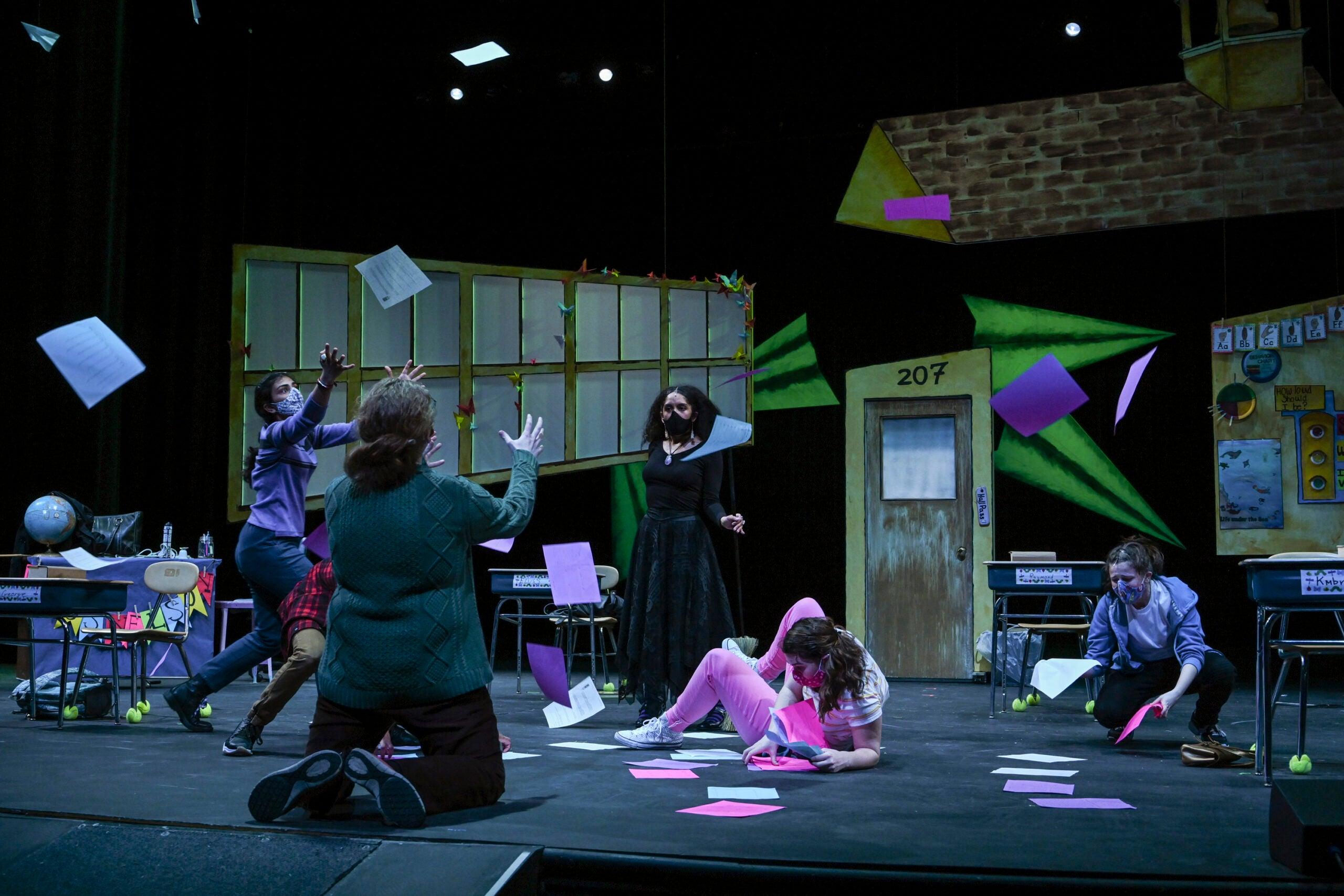 Viola Swamp (Alana Parrott) takes over the class