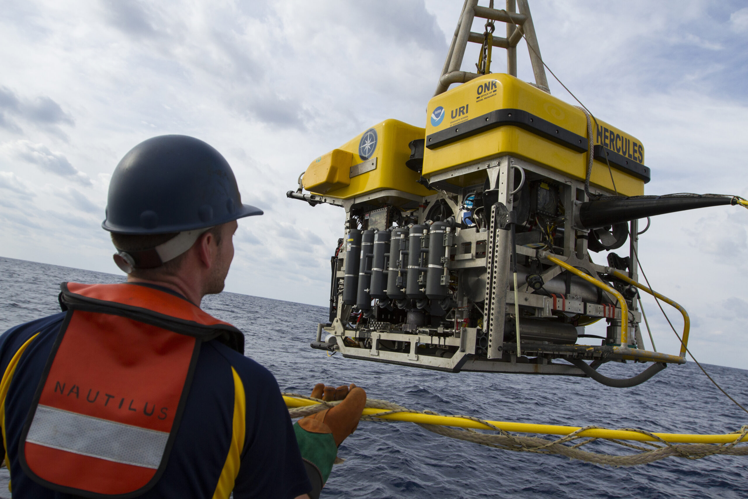 The remotely operated vehicle Hercules