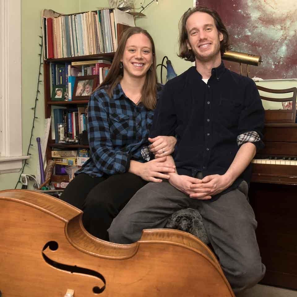 Kirsten Volness and Jacob Richman