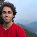 Zachary Smith poses at Thousand Island Lake