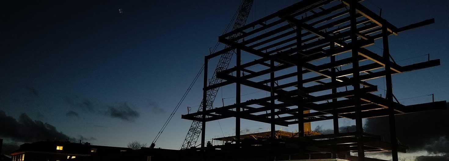 new engineering building steel structure