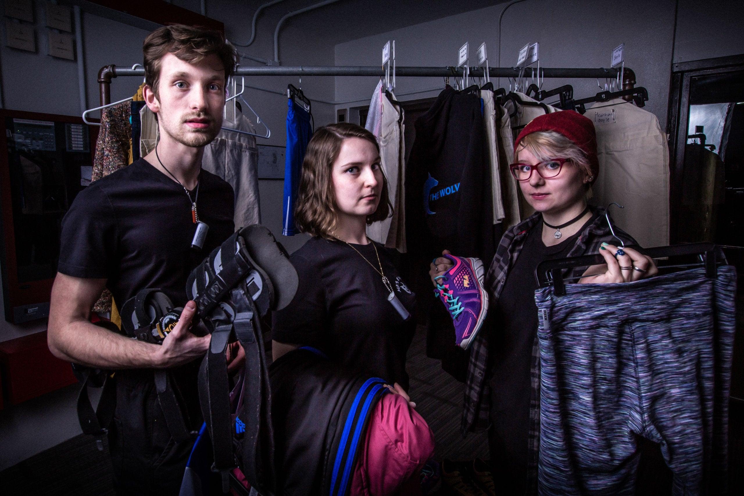 Matthew Oxley, Fiona Chlebeckek, and Athena Nakrosis