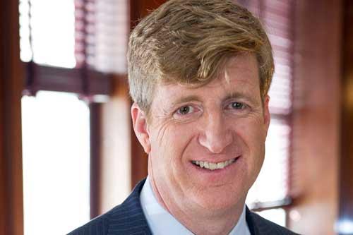 Former RI Congressman Patrick J. Kennedy