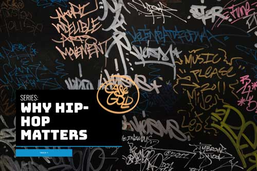 Hip Hop graphic for homepage feature series.