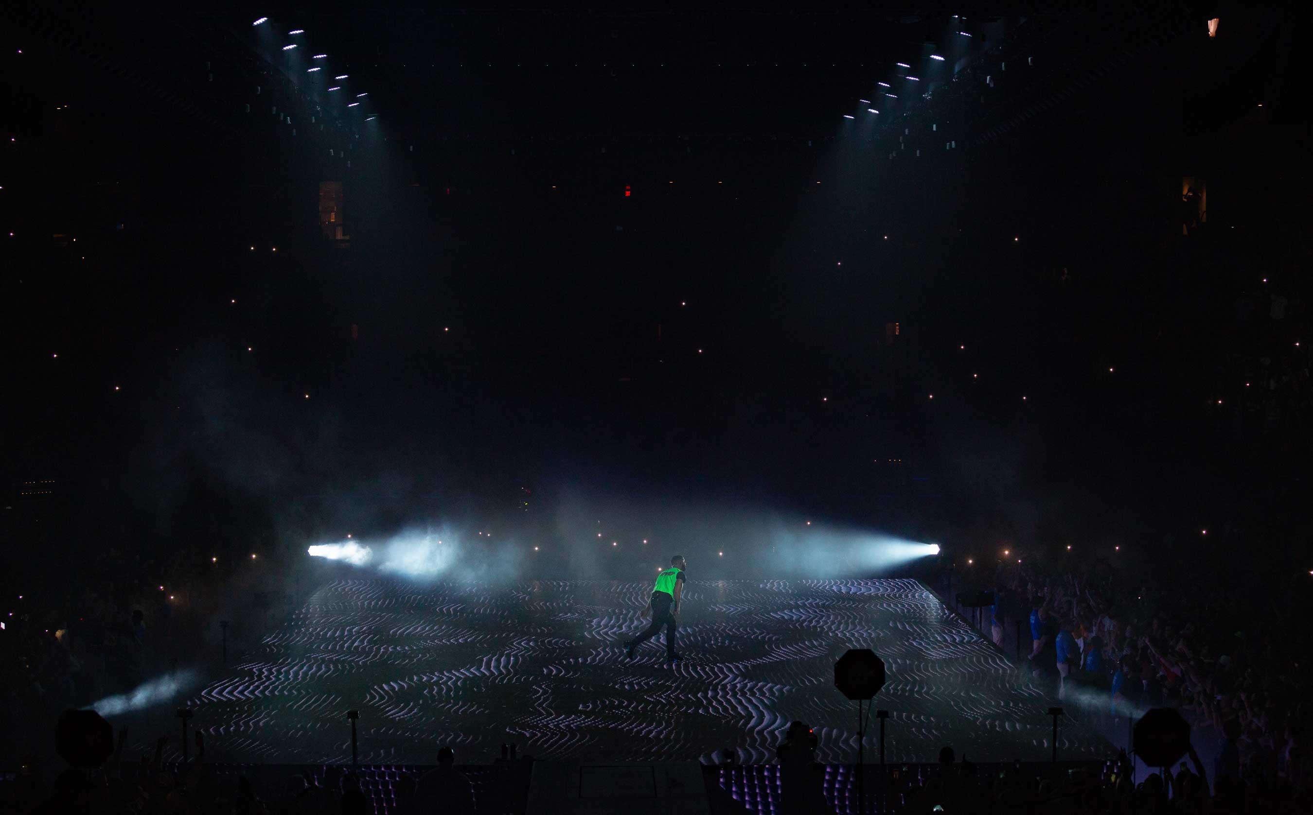 Spotlight on Drake at the TD Garden