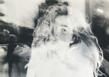 Kyla Duffy double exposure self-portrait
