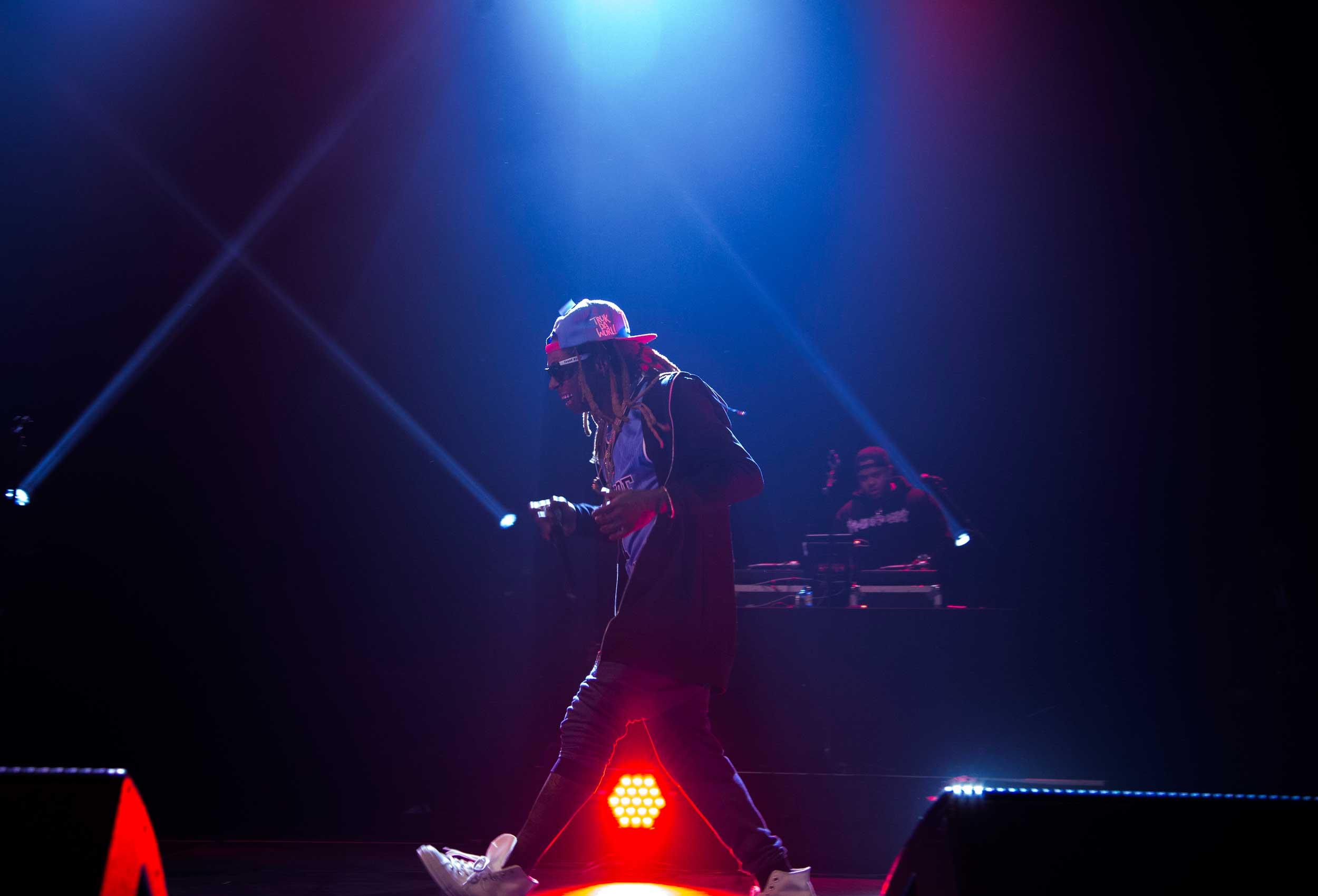 Lil Wayne at the Ryan Center
