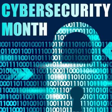 2019 URI Cybersecurity Month logo
