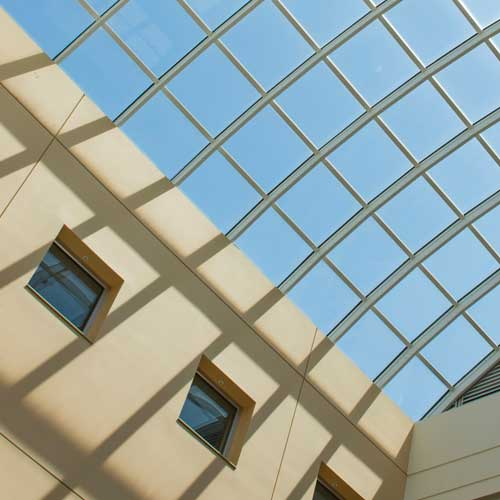 College of Business skylight
