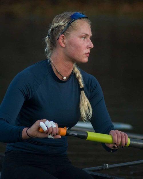 URI Women's Rowing Team member Kat Gillies member