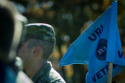 Student Veterans Organization flag