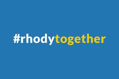 #rhodytogether logo for COVID 19 updates