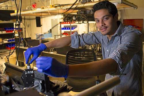 Assistant Professor of Mechanical Engineering Ashutosh Giri